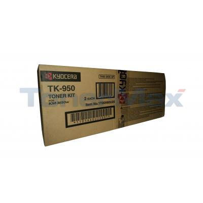 KYOCERA MITA KM-3650W TONER CARTRIDGE BLACK